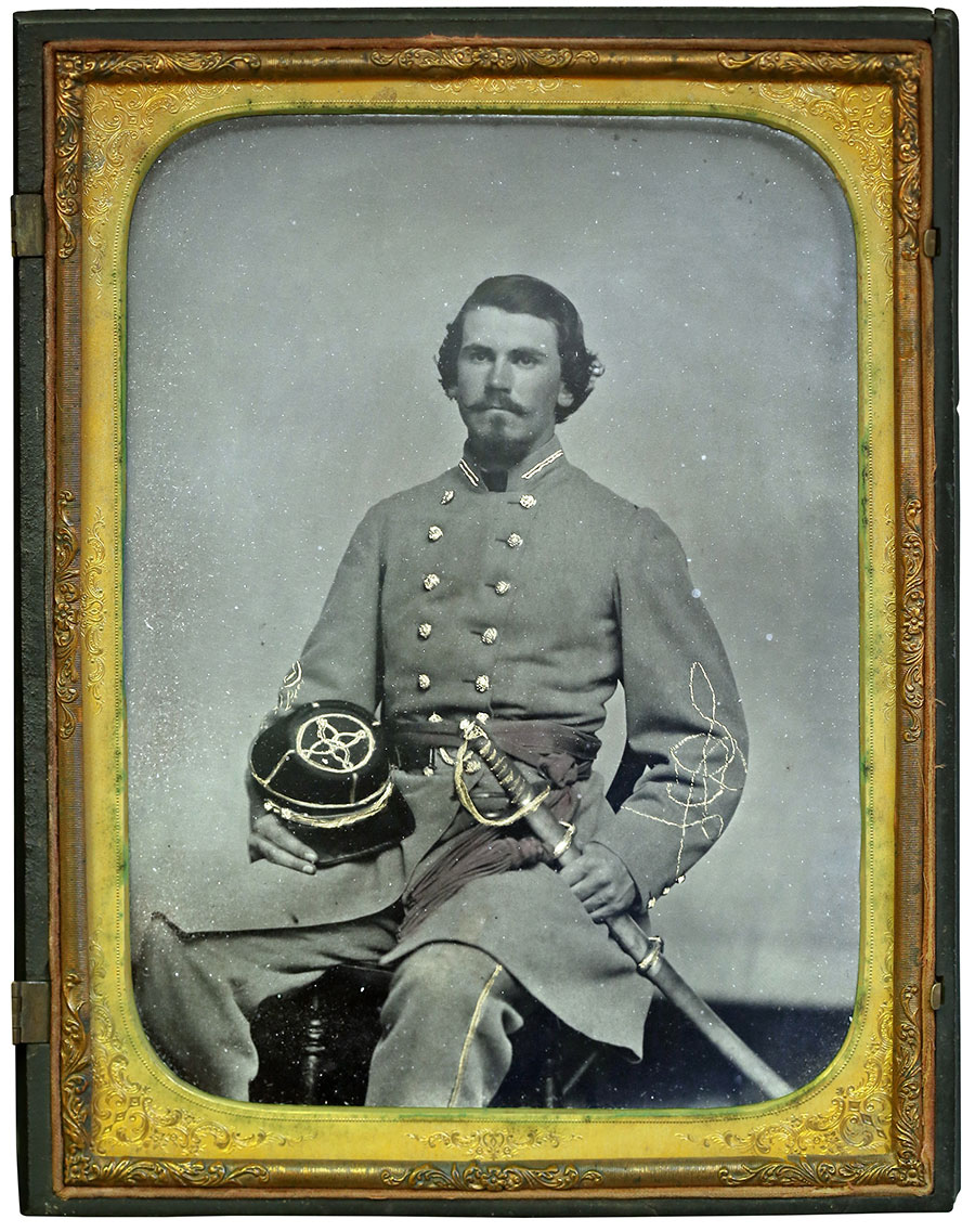Full-plate tintype by an anonymous photographer. Collection of Scott Lancaster.