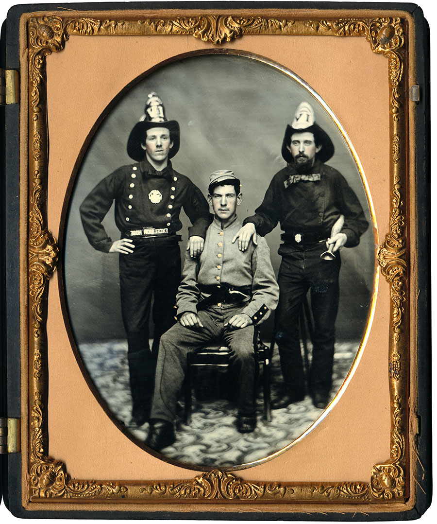 Half-plate ambrotype by an anonymous photographer.