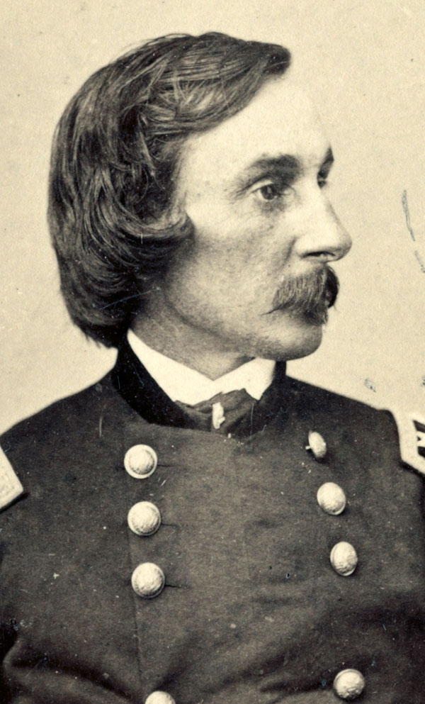 Warren as major general of the Fifth Corps, about 1865. Library of Congress.
