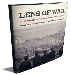 Lens of War: Exploring Iconic Photographs of the Civil War by J. Matthew Gallman and Gary W. Gallagher; Hardcover, 256 pages; University of Georgia Press;List: $32.95.