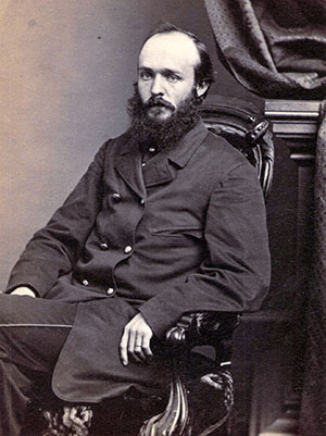 BELOVED COLONEL: German-born Louis Wagner (1838-1914) emigrated to the U.S. in 1849. He received a promotion to brevet brigadier general in 1865. Carte de visite by J. E. McClees of Philadelphia.