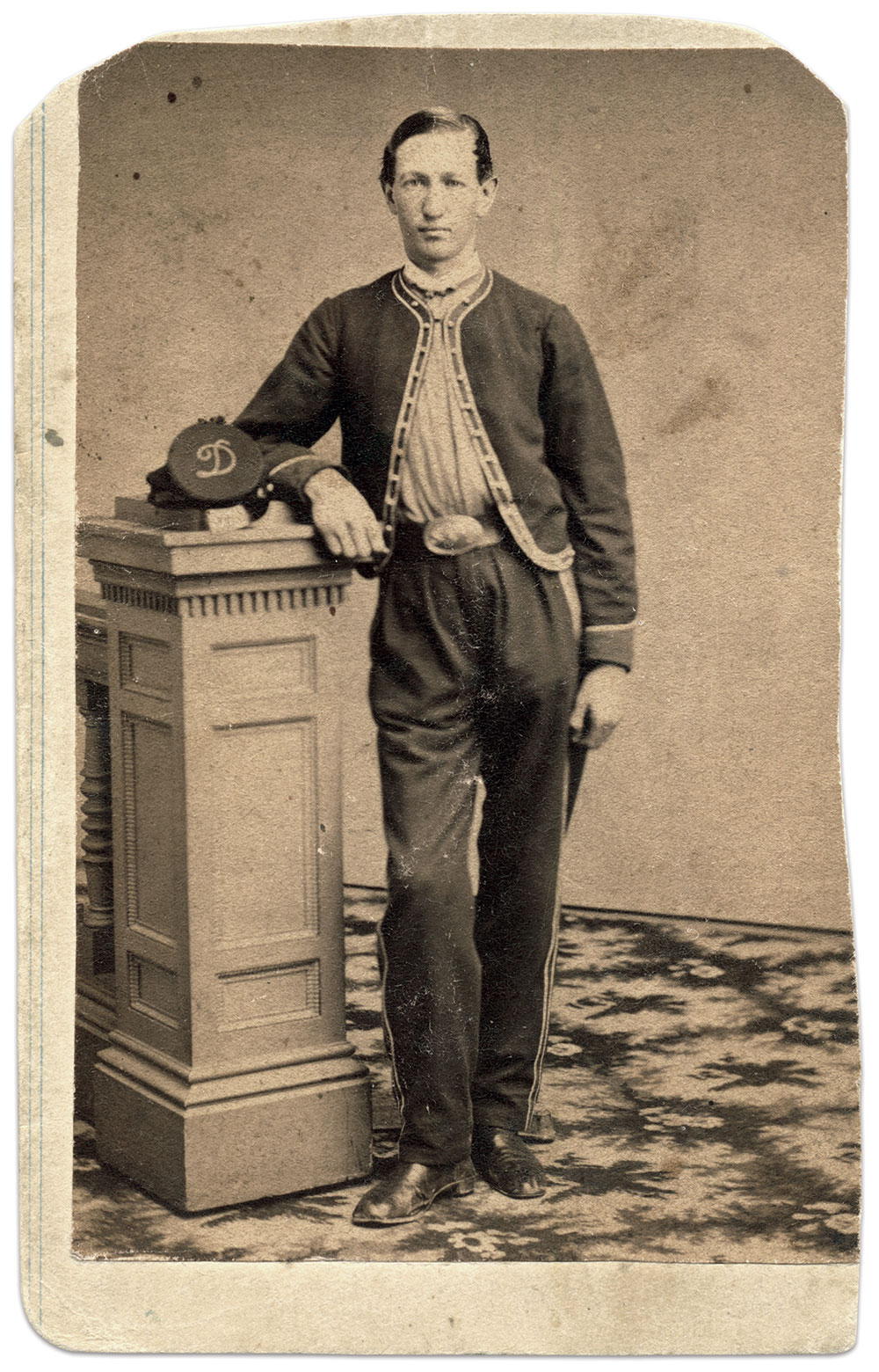 Carte de visite by S. J. Thompson & Co. of Albany, N.Y.