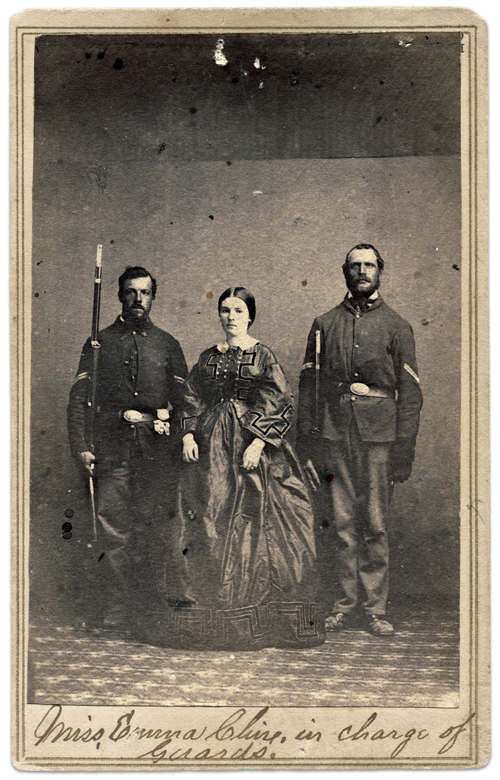 Carte de visite by Barr & Young of Vicksburg, Miss. Michael J. McAfee Collection.