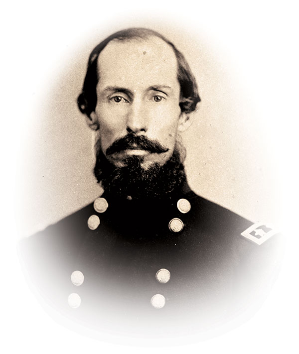 Marshall F. Moore, the able third colonel of the regiment, pictured as a brevet major general. Washington State Archives.