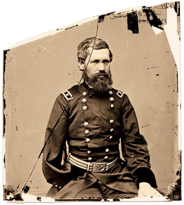 HIS SPEECH INSPIRED A POET: Maj. Gen. Oliver Otis Howard. Library of Congress.