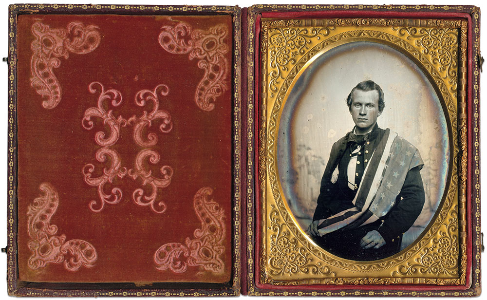 Half-plate tintype by an anonymous photographer.