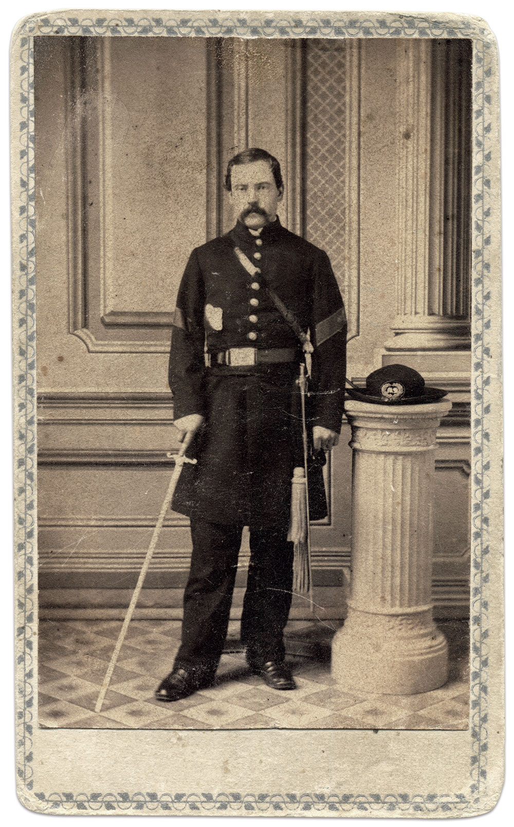 Carte de visite by Huested & Wendell of Albany, N.Y.