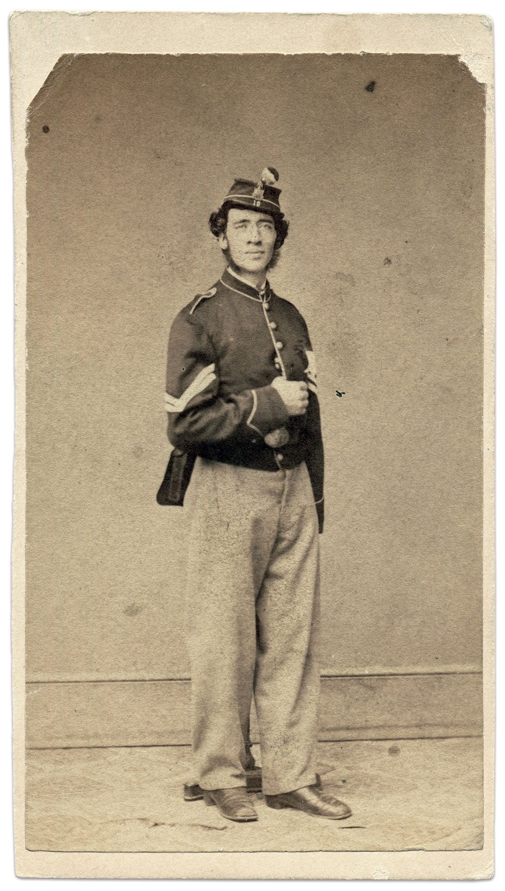 Carte de visite by the Thompson Gallery of Albany, N.Y.