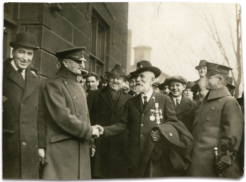 Press photo by an anonymous photographer. The Late Orton Begner Collection.