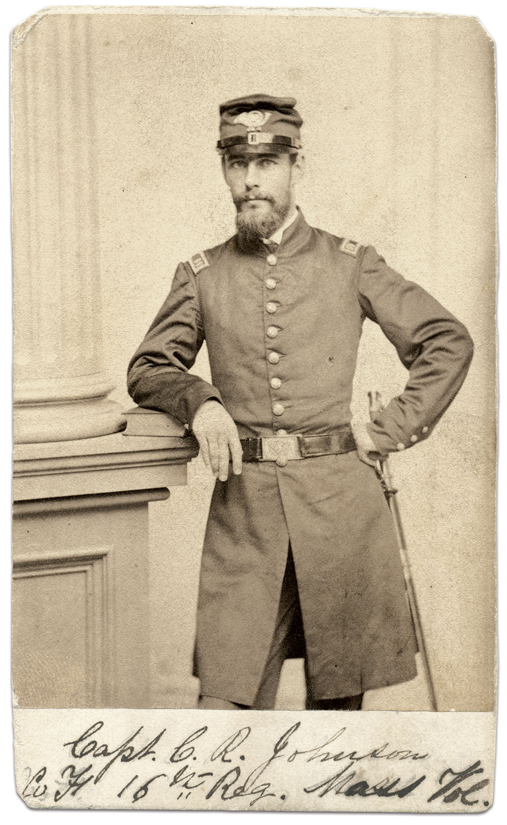 Carte de visite by Whipple of Boston, Mass. The Medford Historical Society Photograph Collection, the Medford Historical Society & Museum.