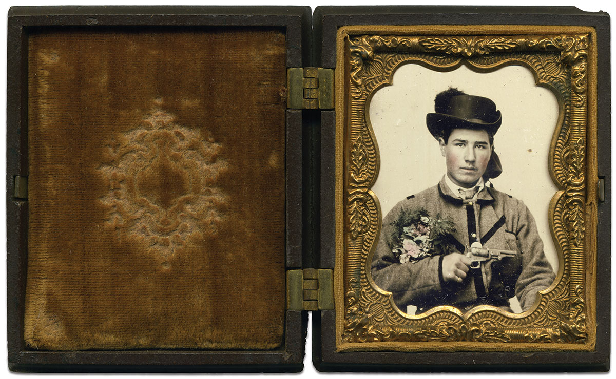 Ninth-plate ambrotype by an anonymous photographer. Seth McCormick-Goodhart Collection.