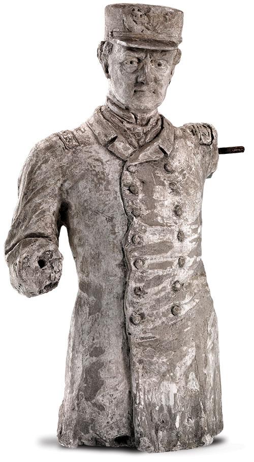 Philip's model for the Farragut competition. Smithsonian American Art Museum, Gift of Mrs. Pauline Philip Lapidge.