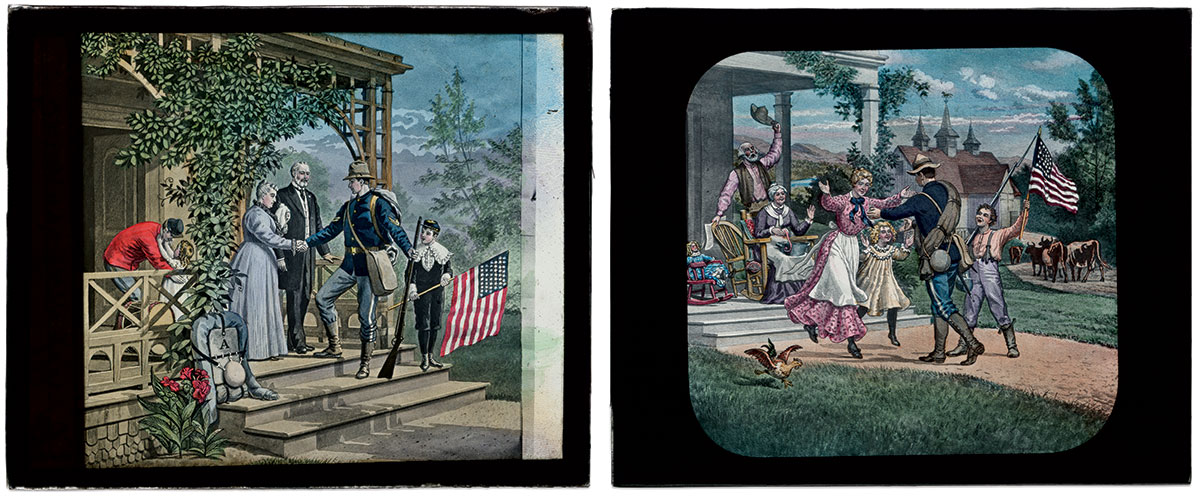 BEALE ADAPTED a popular Civil War theme, a soldier going to war and his safe return home, to the Spanish-American War.