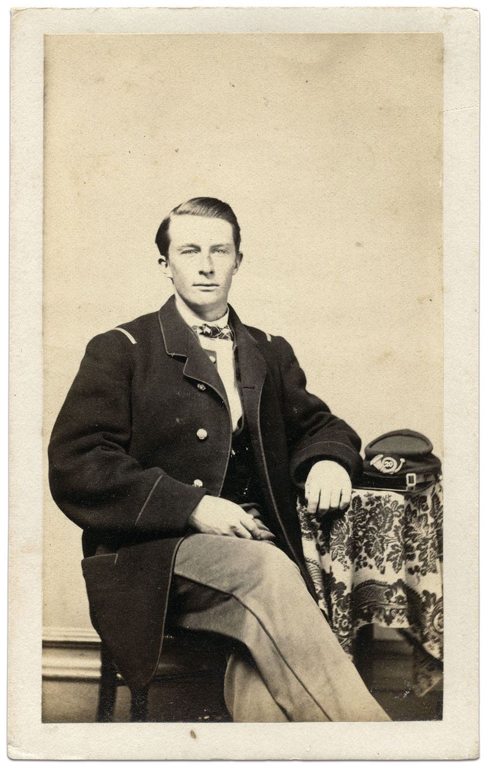 Carte de visite by R.H. Dewey of Pittsfield, Mass. Rick Carlile Collection.