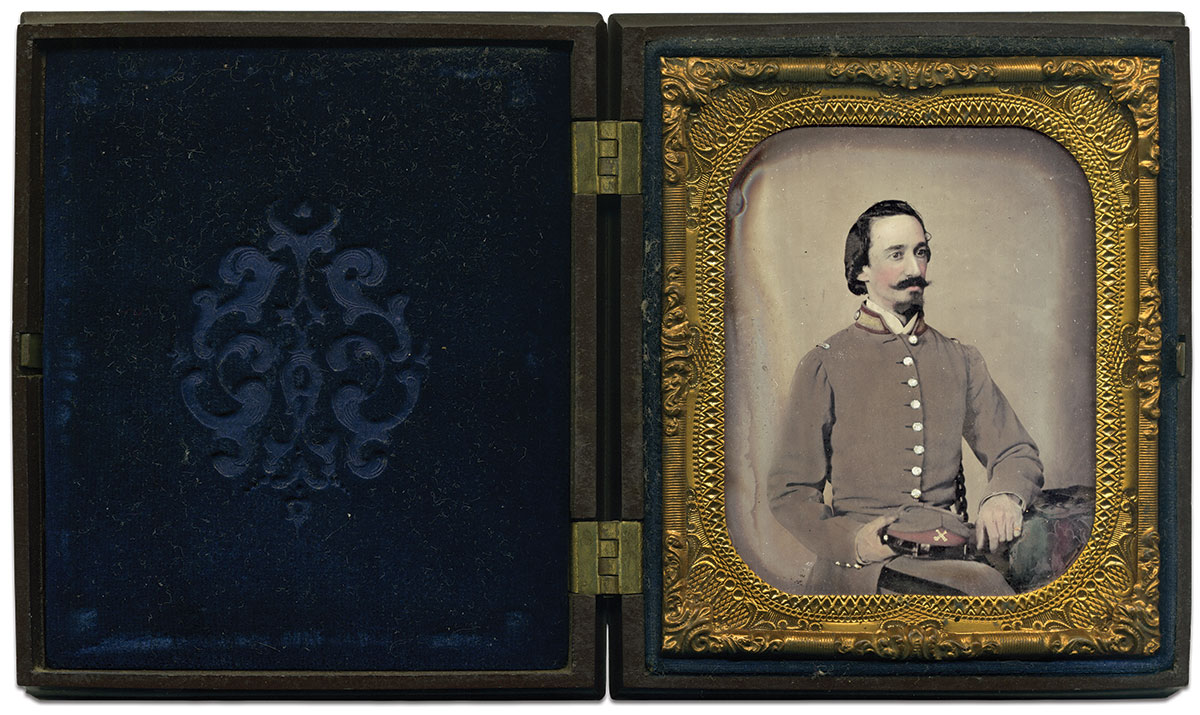 Sixth-plate ambrotypes by Charles R. Rees of Richmond, Va. Rusty Hicks Collection.