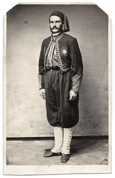 Carte de visite by W. H. Masters of Princeton, Ill.