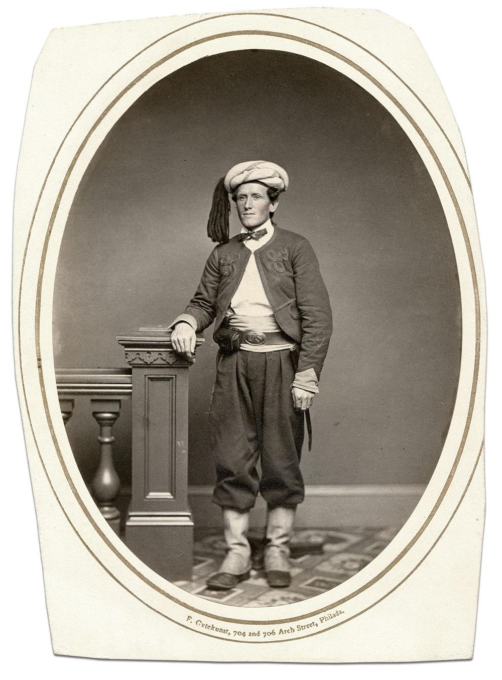 Albumen by Frederick Gutekunst of Philadelphia, Pa.