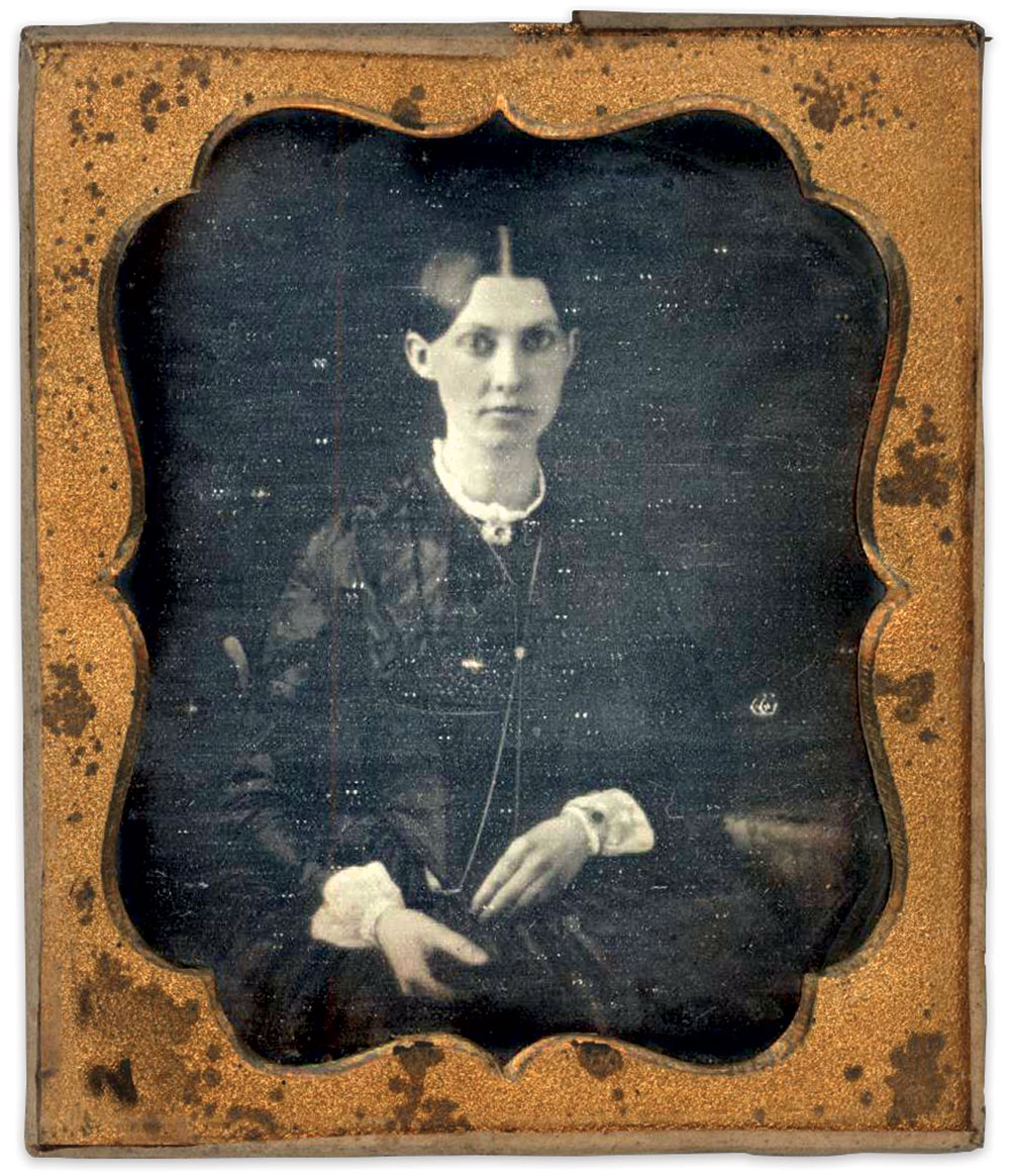 Sixth-plate daguerreotype by an unidentified photographer.
