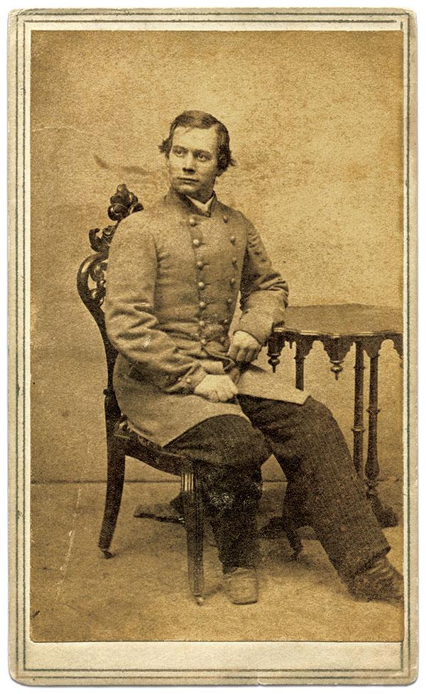 Carte de visite by J.H. Van Stavoren of Nashville, Tenn. Lamar Williams Collection.