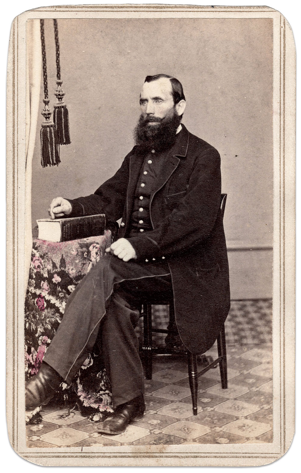 Carte de visite by G.B. Hall of Little Falls, N.Y. Charles Joyce Collection.