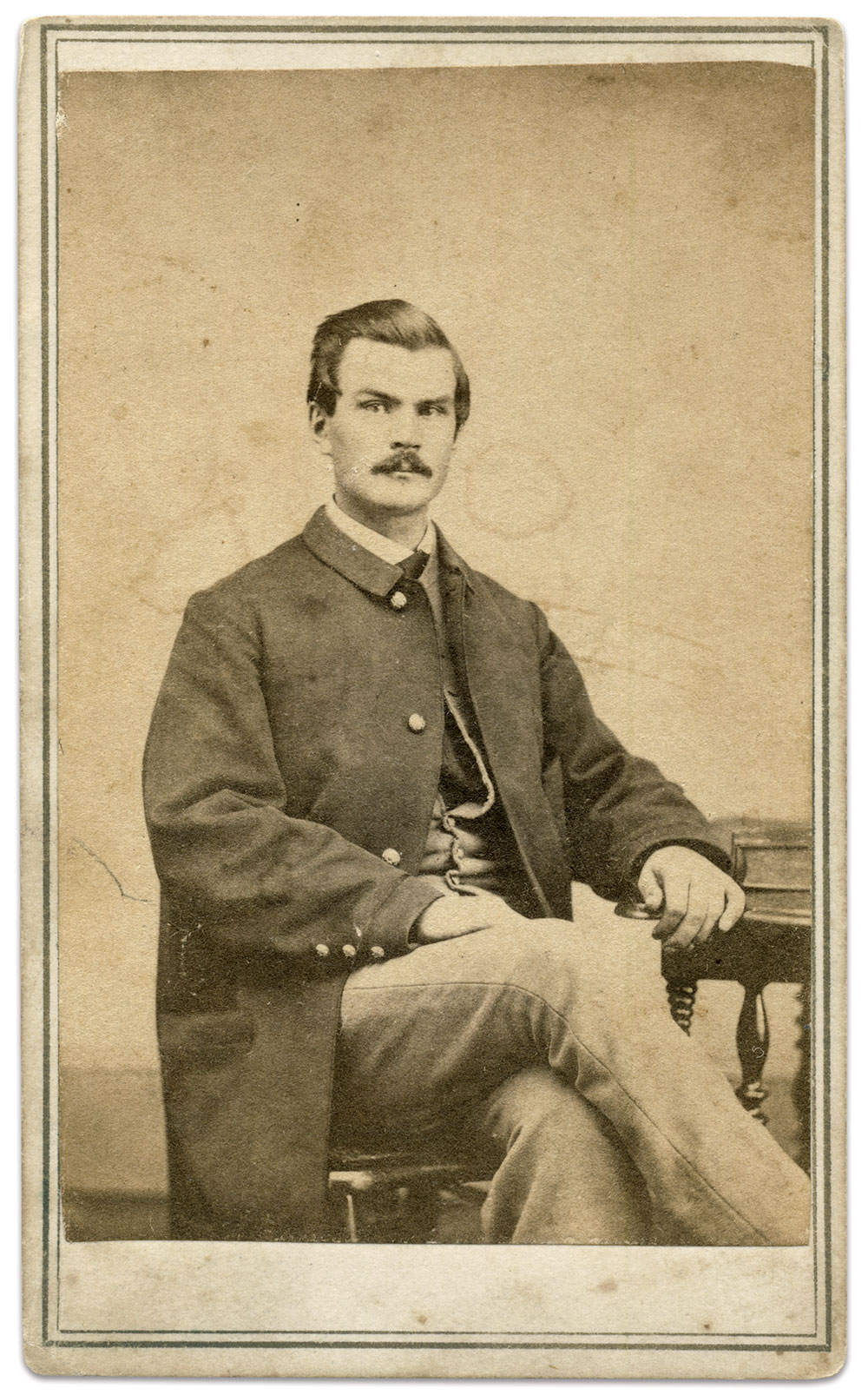 Carte de visite by S.F. Sterlin and W.W. Culver of Woodstock, Vt. John Gibson Collection.