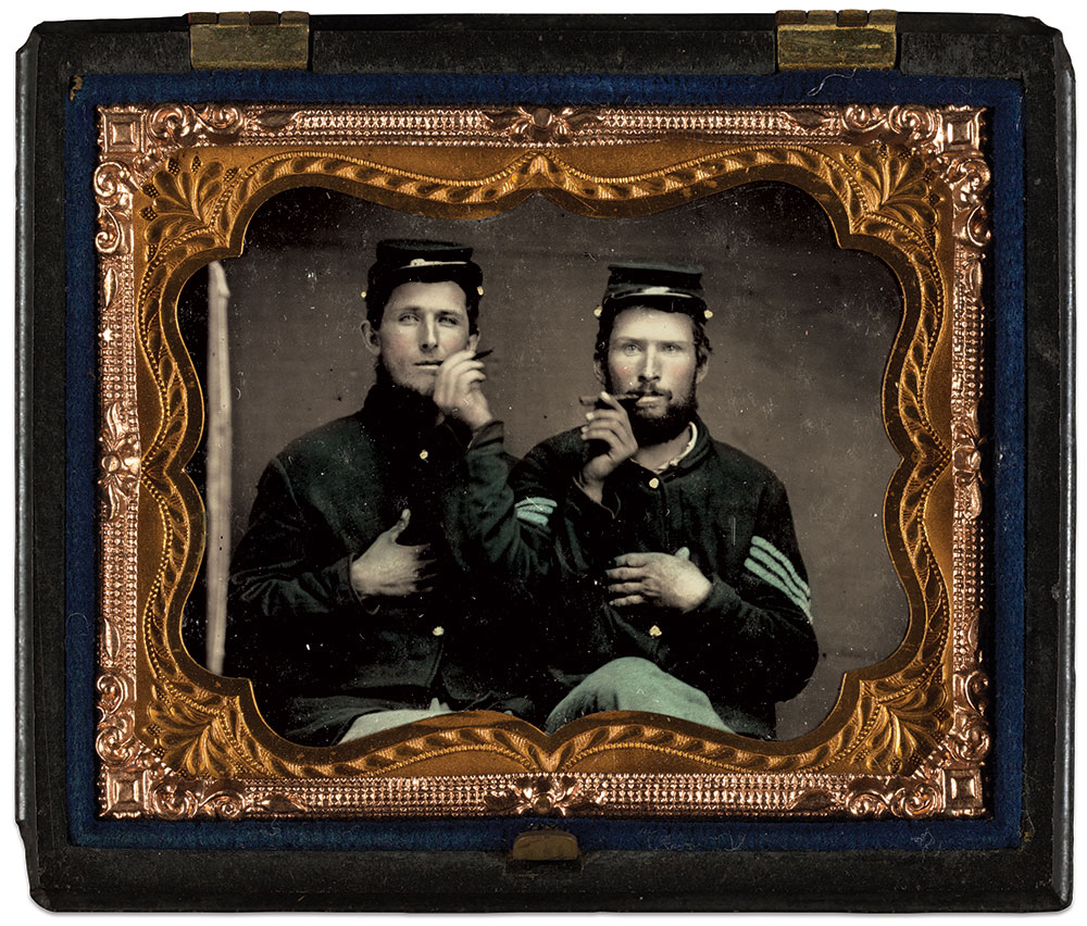Ninth-plate tintype by an anonymous photographer. The Liljenquist Family Collection, Library of Congress.
