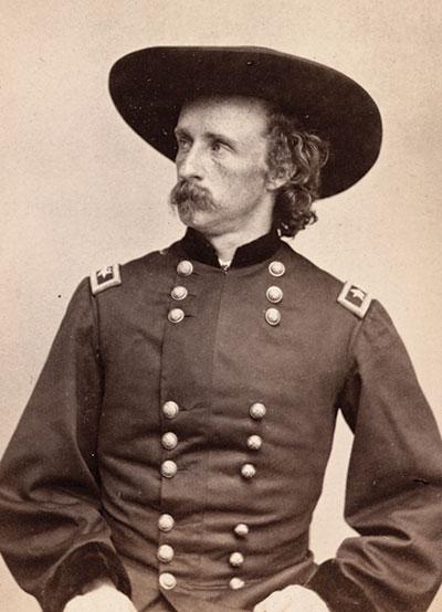 """Wasn't I glad I was not a doughboy..."" — George A. Custer, 1867"