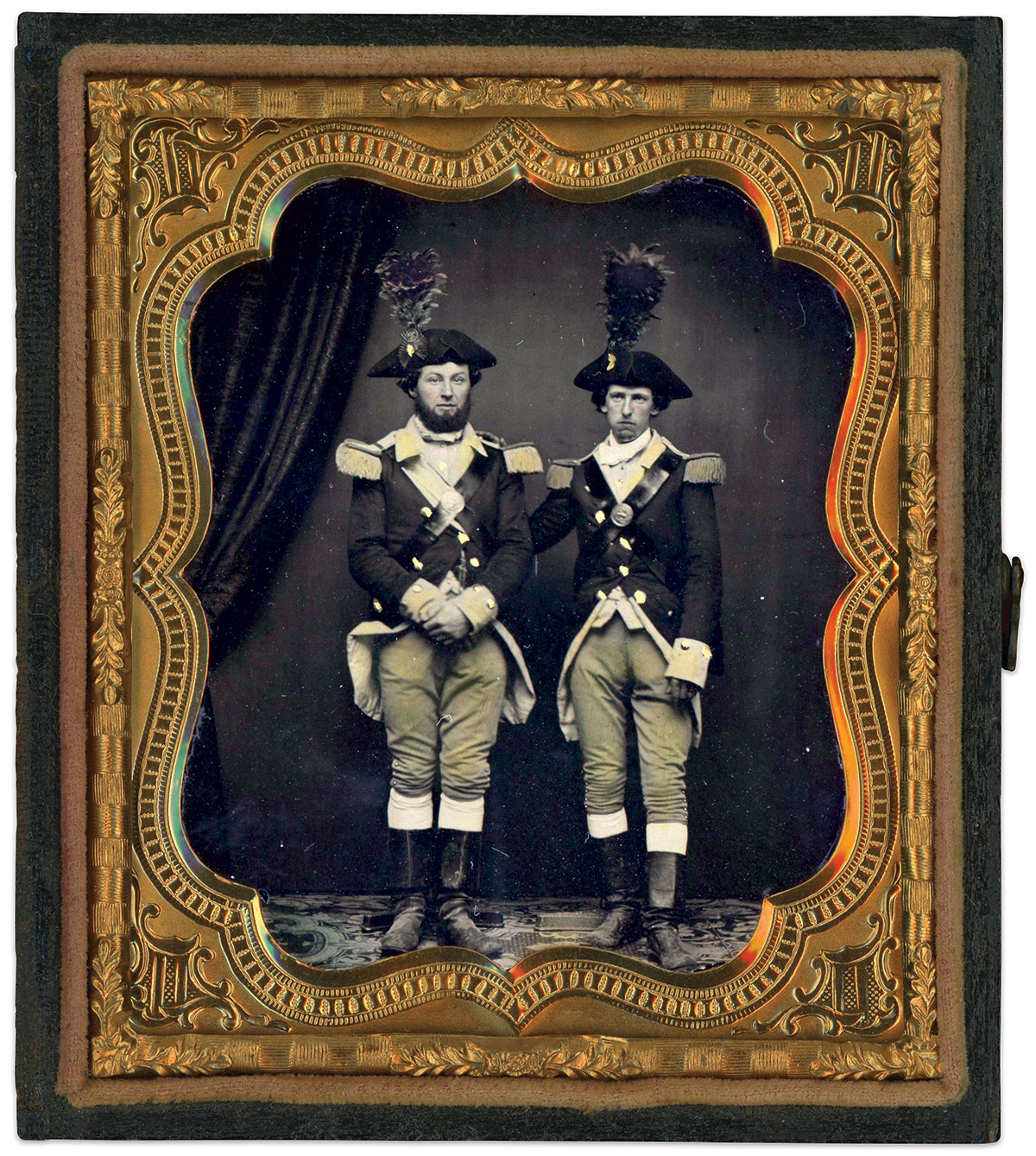 Sixth-plate ambrotype by an anonymous photographer. Dan Binder Collection.