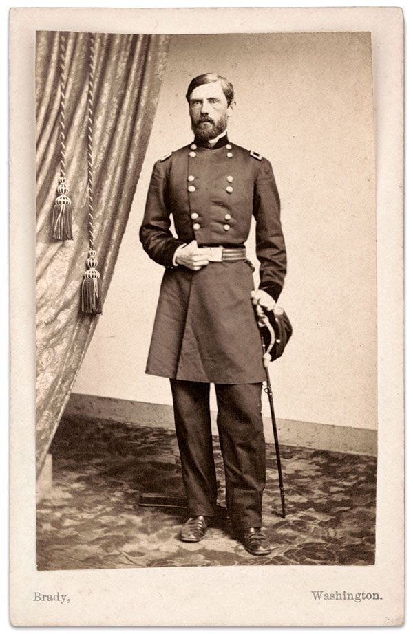 Carte de visite by Mathew B. Brady of New York City and Washington, D.C. The Liljenquist Family Collection at the Library of Congress.