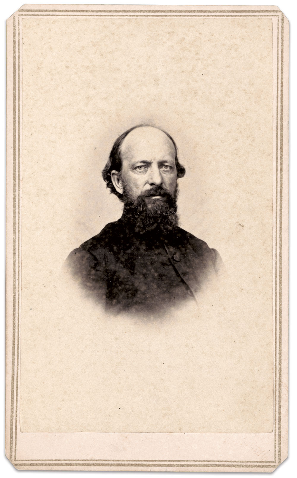 Carte de visite by Moulton & Larkin of Elmira, N.Y. The Liljenquist Family Collection at the Library of Congress.