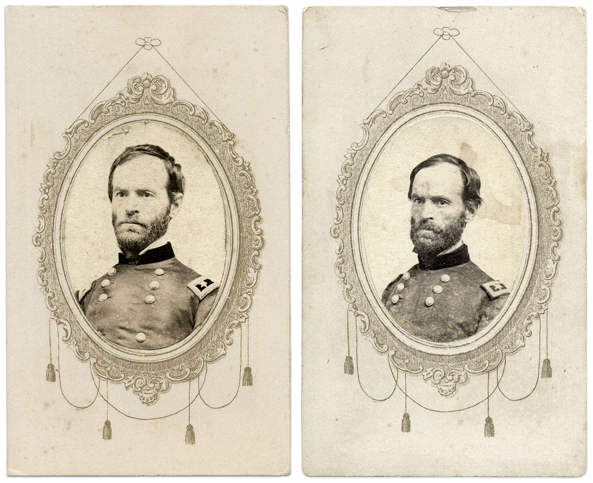 Cartes de visite by Hiram Allen Balch of Memphis, Tenn.