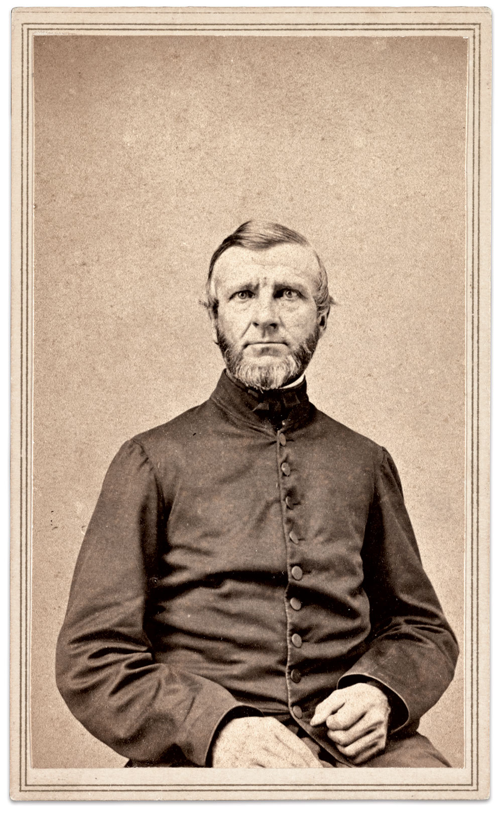 Carte de visite by an anonymous photographer. The Liljenquist Family Collection, Library of Congress.