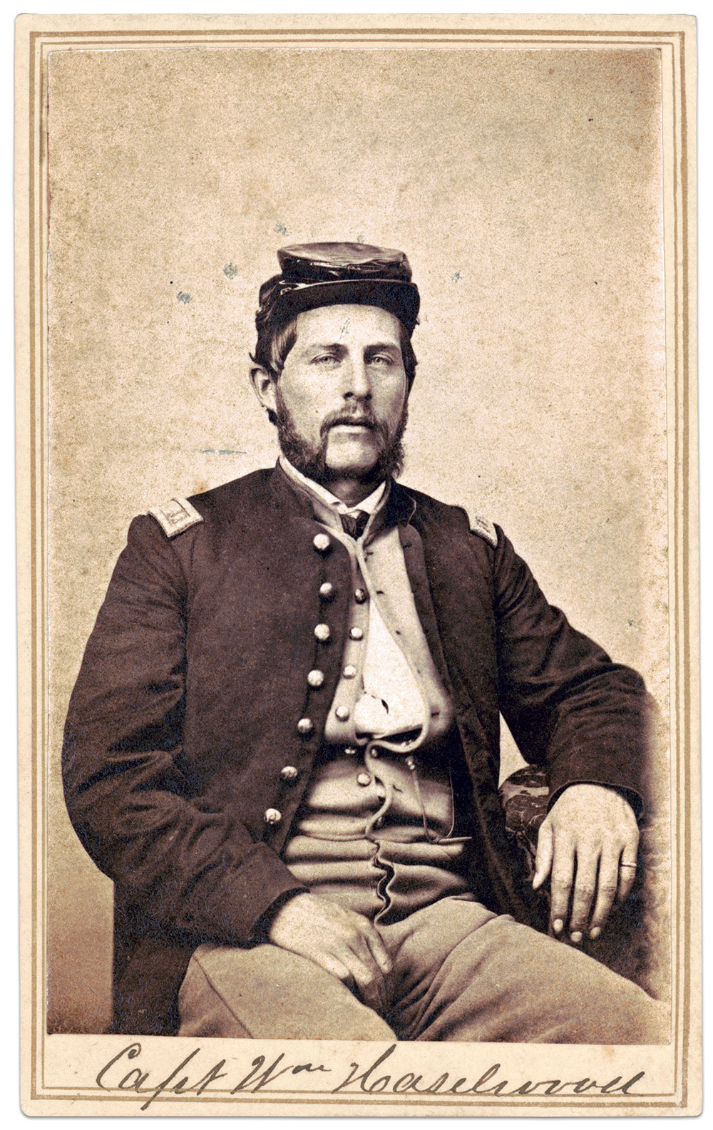 Carte de visite by an anonymous photographer. The Liljenquist Family Collection at the Library of Congress.