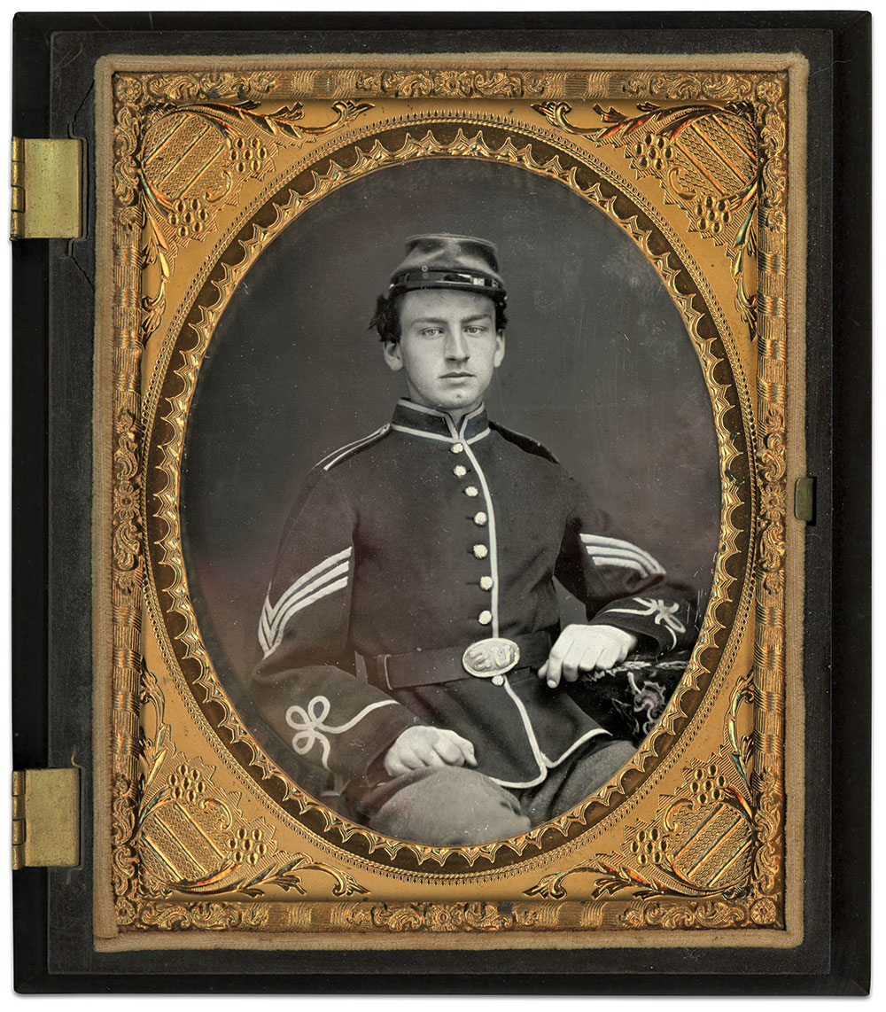 Quarter-plate daguerreotype by an anonymous photographer.