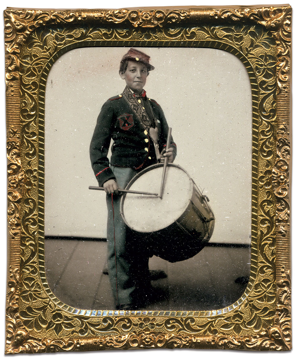 Sixth-plate tintype by an unidentified photographer. Mike Werner Collection.