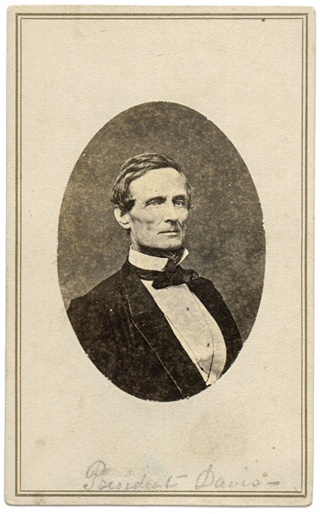 Carte de visite by Minnis and Cowell of Richmond, Va.John O'Brien Collection.
