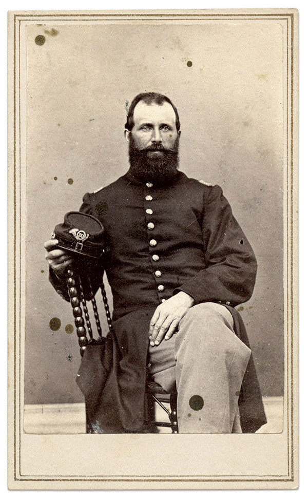 Billings. Carte de visite by C.G. Carleton of Waterville, Maine. Author's collection.