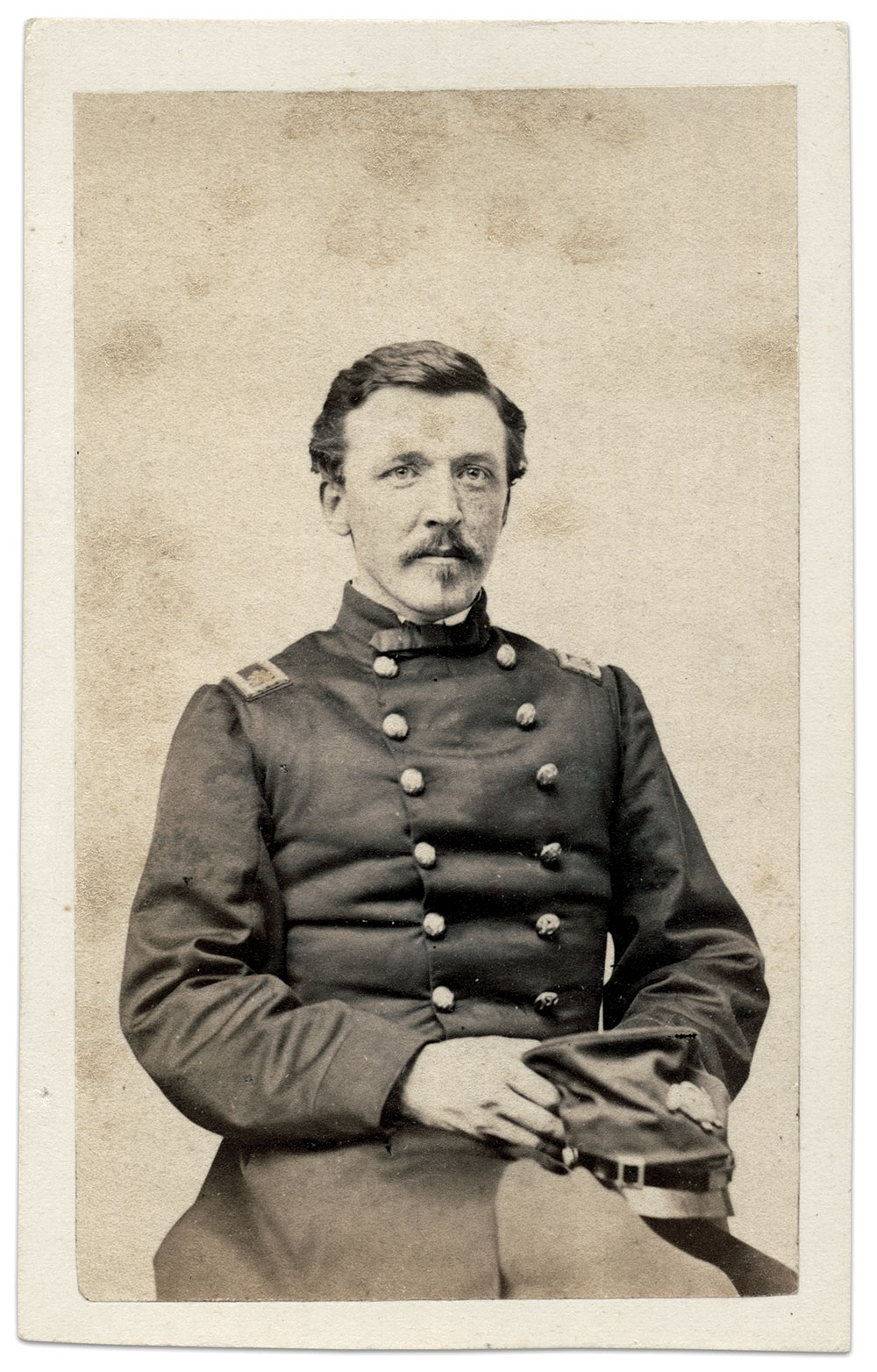 Carte de visite by James Wallace Black of Boston, Mass. Brian Boeve Collection.