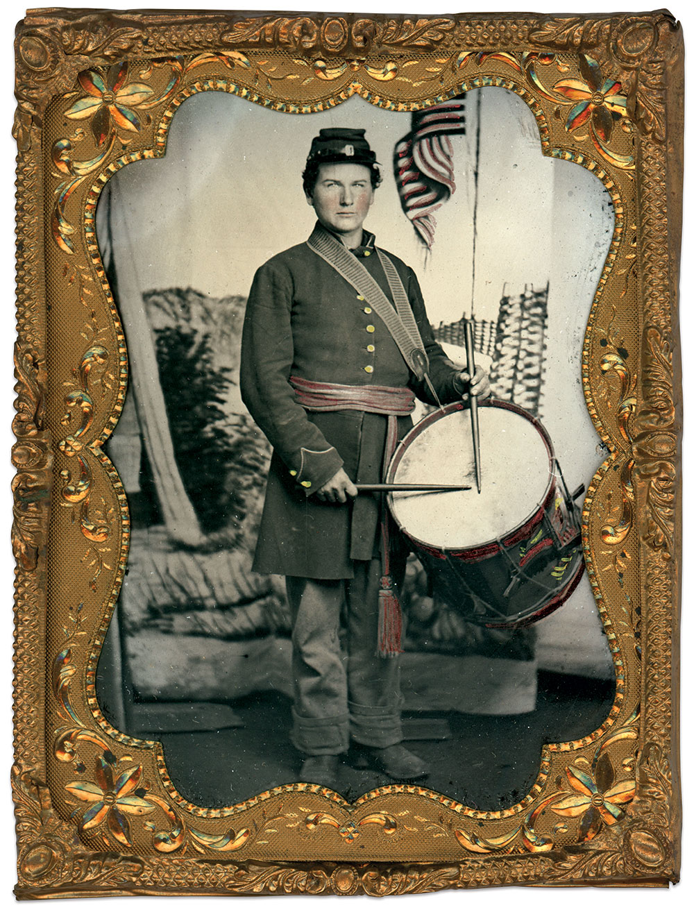 Quarter-plate tintype by an unidentified photographer. Brian Boeve Collection.