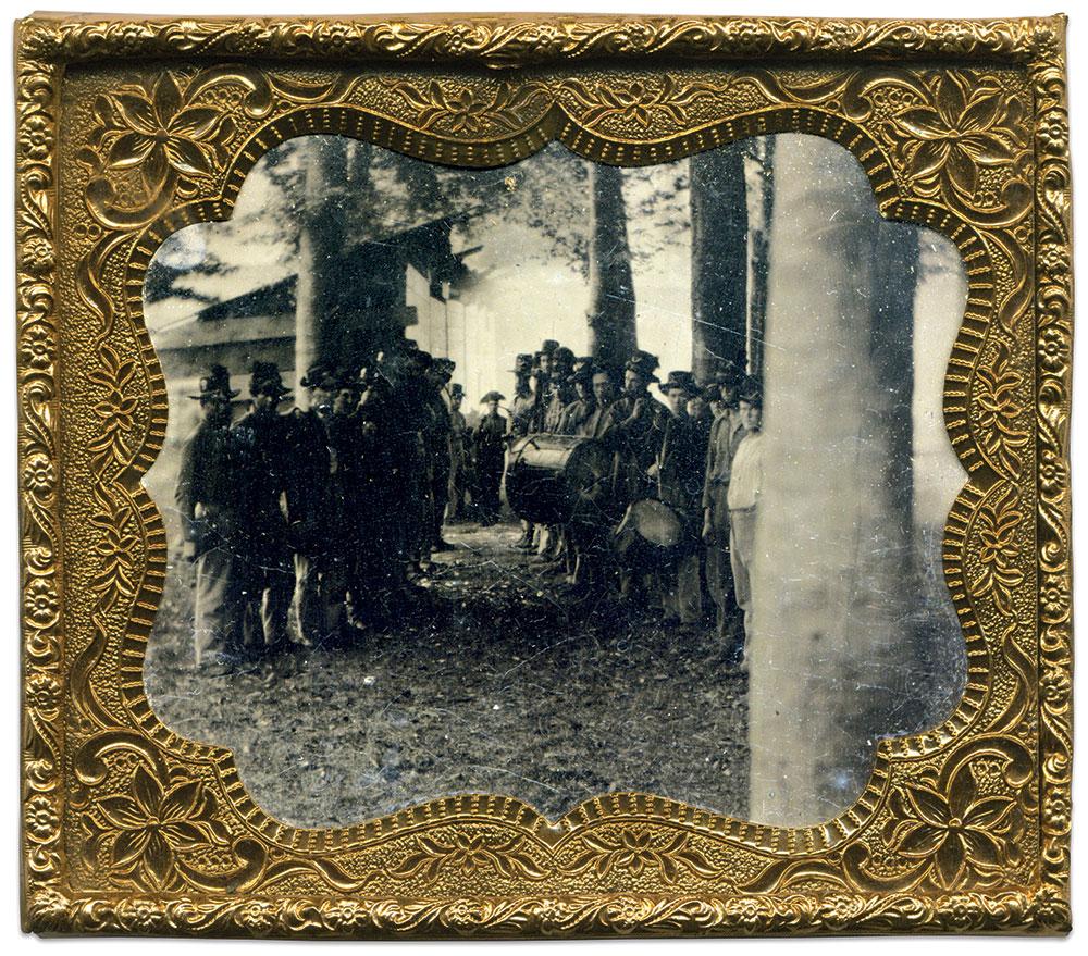 Sixth-plate tintype by an anonymous photographer. Rick Brown Collection of American Photography.