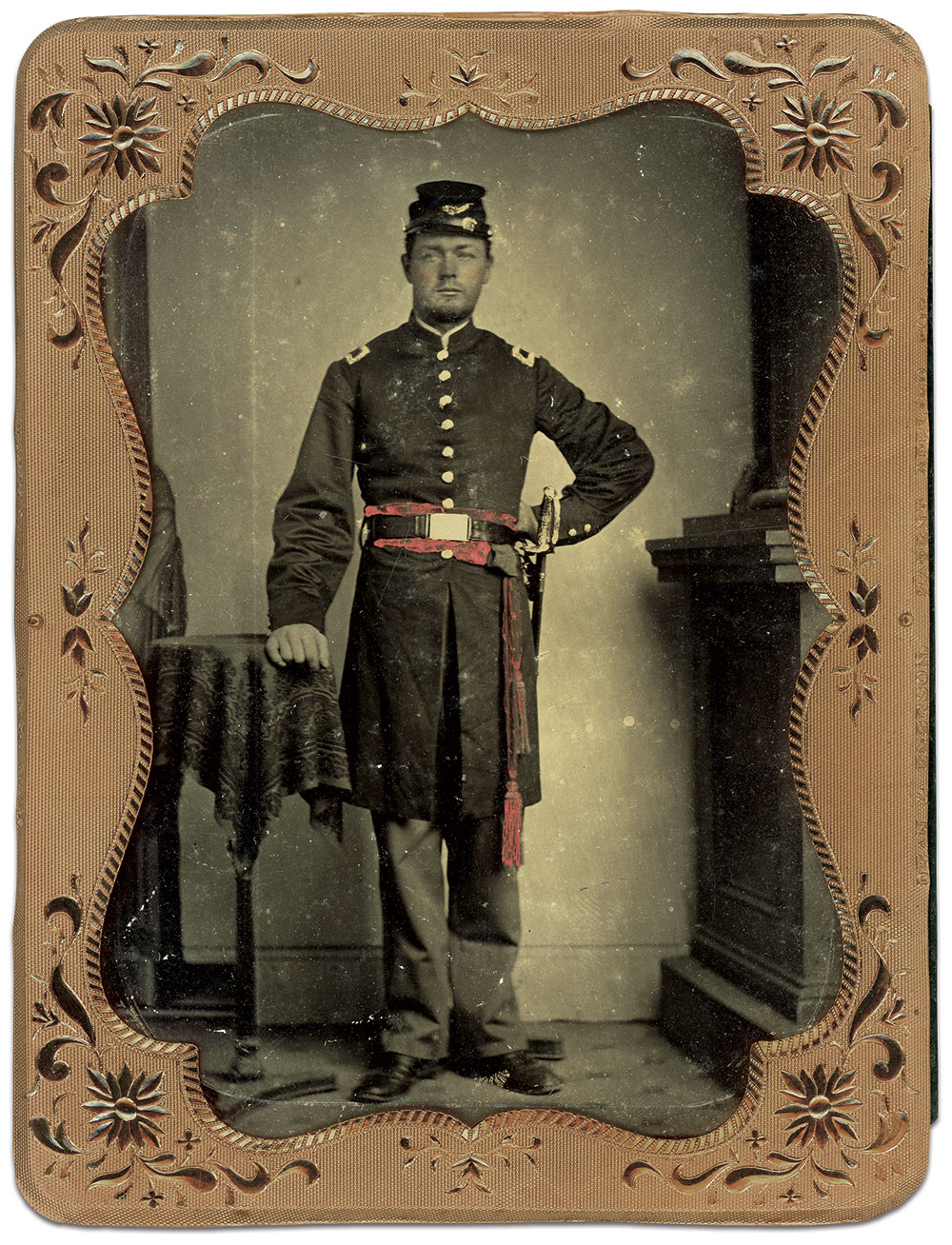 Quarter-plate tintype by an anonymous photographer. Charles Joyce Collection.