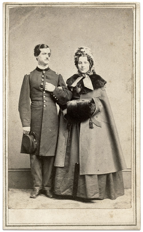 Carte de visite by M.H. Kimball of New York City. Rick Carlile Collection.