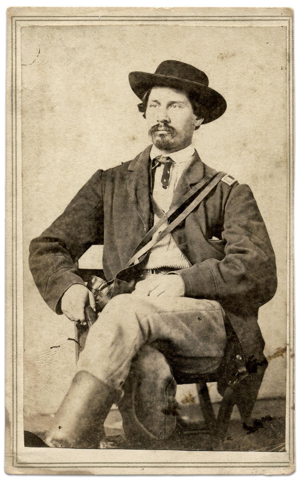 Carte de visite by Theodore M. Schleier of Nashville, Tenn. Rick Carlile Collection.