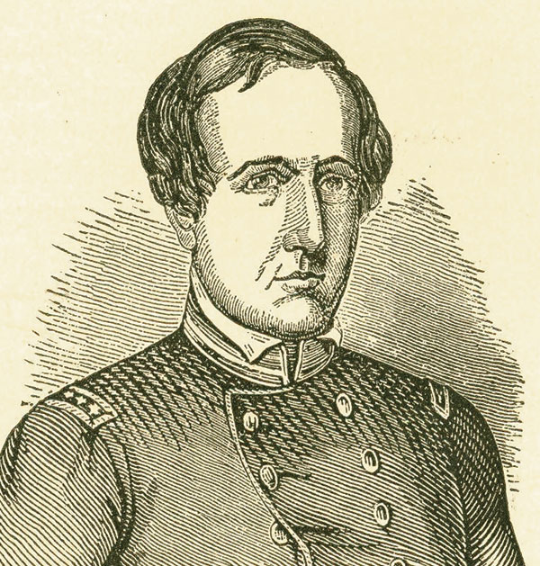 Engraving of Childs. U.S. Army Heritage and Education Center.