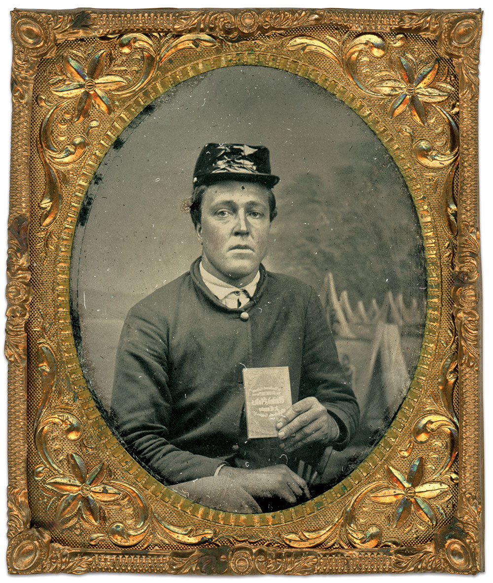 Sixth-plate tintype by an unidentified photographer. Dale Niesen Collection.