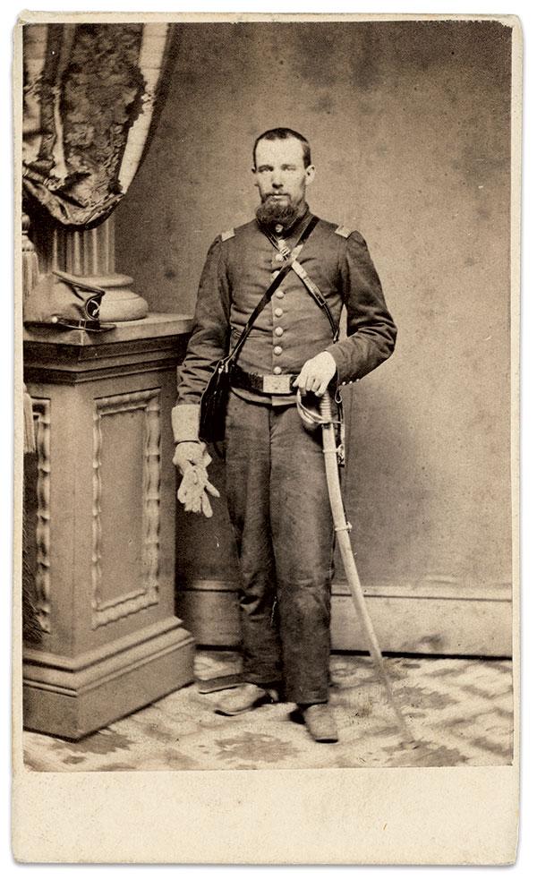Everton Conger, circa 1862. Carte de visite by an unidentified photographer. Author's collection.
