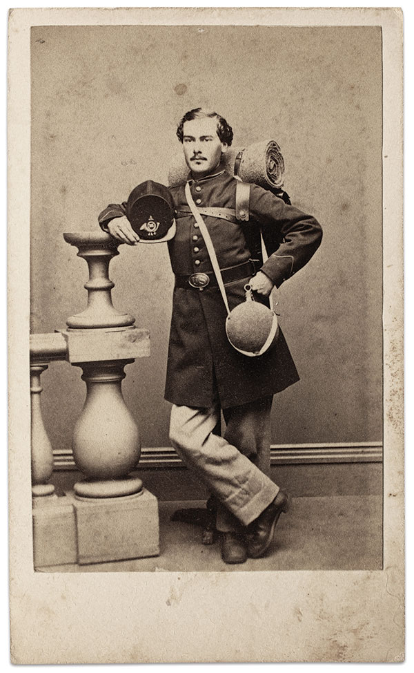 Carte de visite by Wilson Brothers of Hartford, Conn. Buck Zaidel Collection.