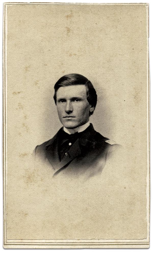 Capt. Andrew Cowan. Carte de visite by S.J. Fowler of Auburn, N.Y. Jeff Kowalis Collection.