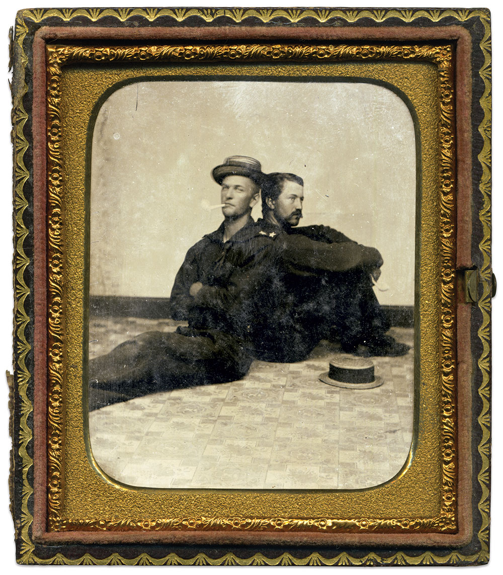 Sixth-plate tintype by an anonymous photographer. Matt Cranford Collection.