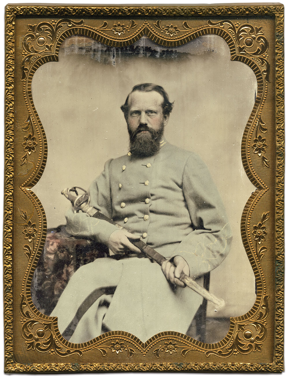 Half-plate ambrotype by an anonymous photographer. Dave Batalo Collection.